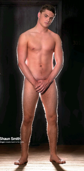 BRITAINS Got Talent Finalist Shaun Smith Poses Naked For The Gay Times And B2Scom Has The Pic