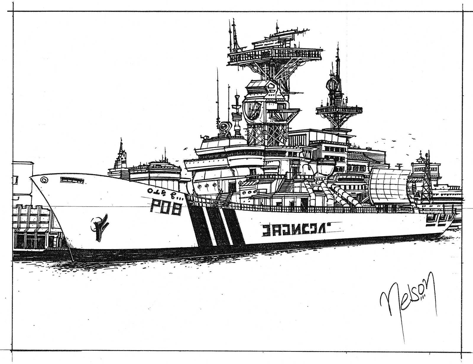 Navy ship coloring pages ~ Nelson's Art Portfolio 2010: December 2009
