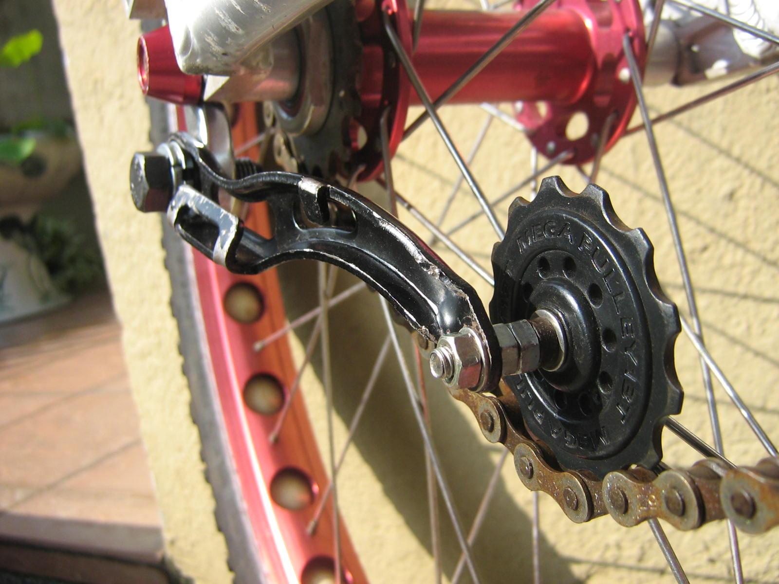Biketrials And A Fistful Of Blisters Diy V Brake Roller