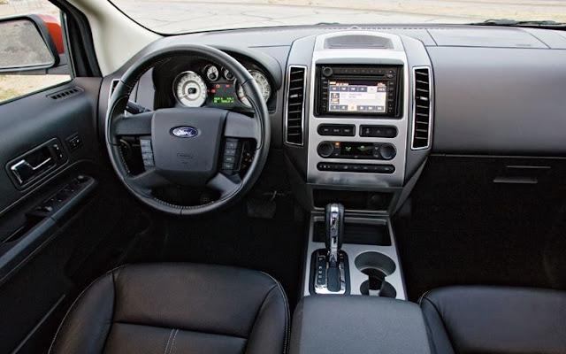 Ford Edge Sel 2009 3 5 V6 Seminova Tem Pre 231 O Inferior A R