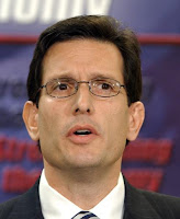 Eric Cantor is confused