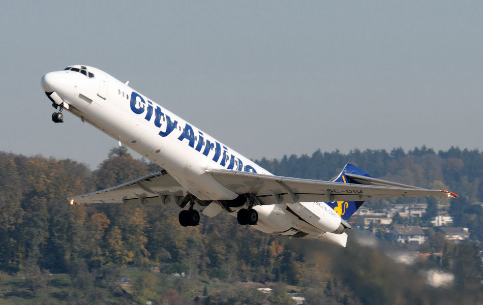 flugzeug city airline