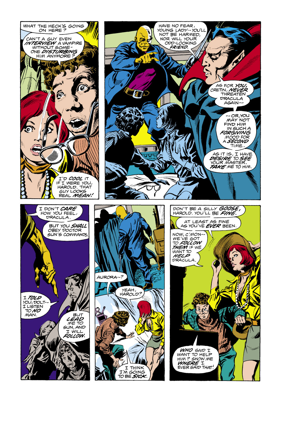 Tomb of Dracula (1972) issue 38 - Page 18