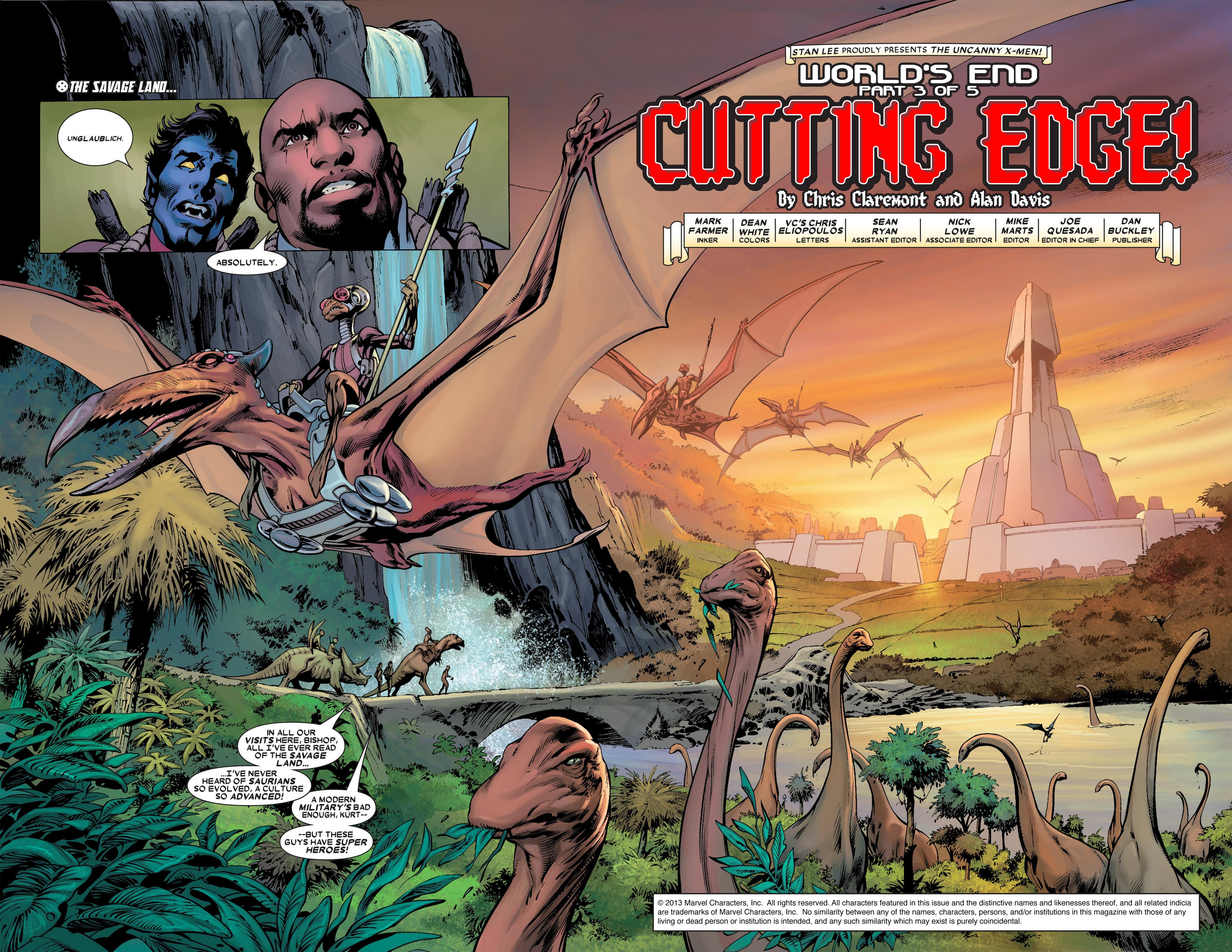 Read online Uncanny X-Men (1963) comic -  Issue #457 - 2