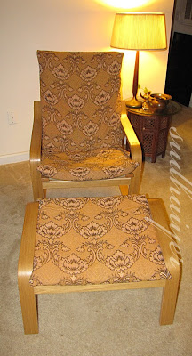 ikea poang chair cushion diy