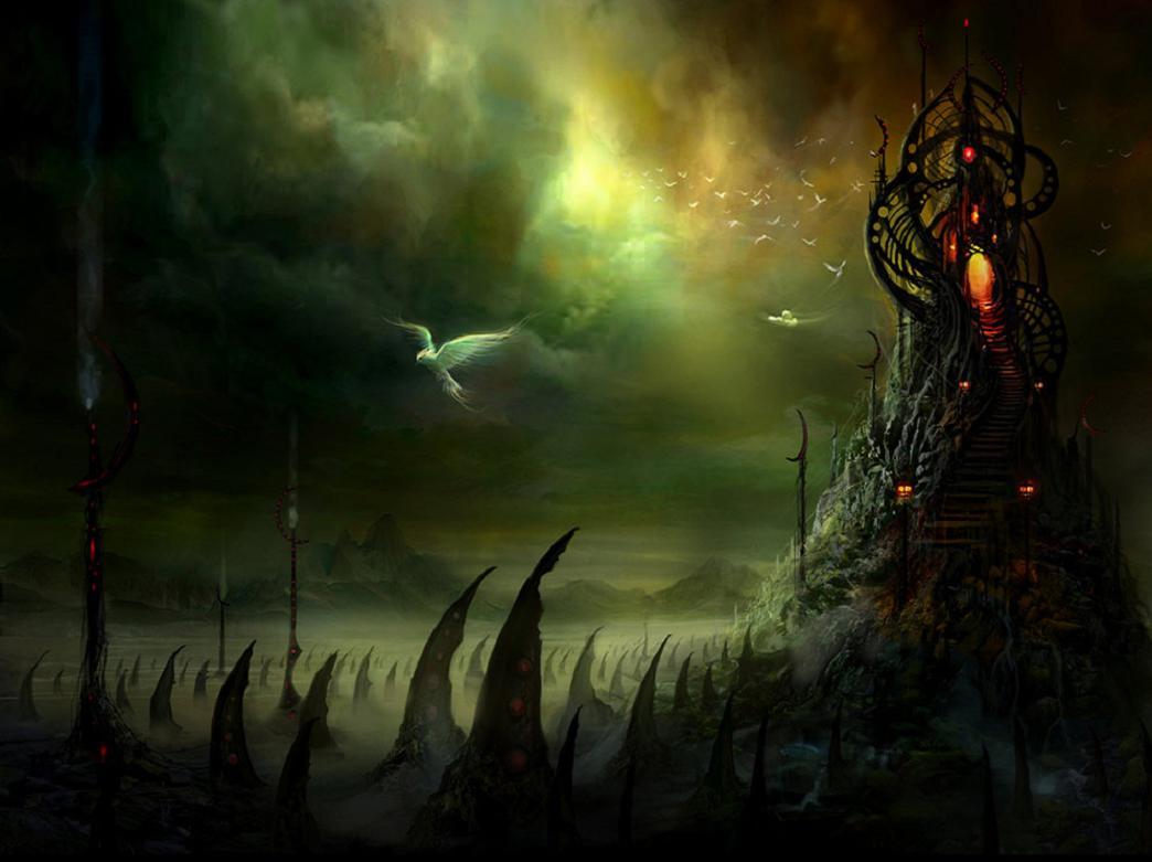 Image Detail For Dark Mysterious Hd Fantasy: Depoetasylocos: July 2010