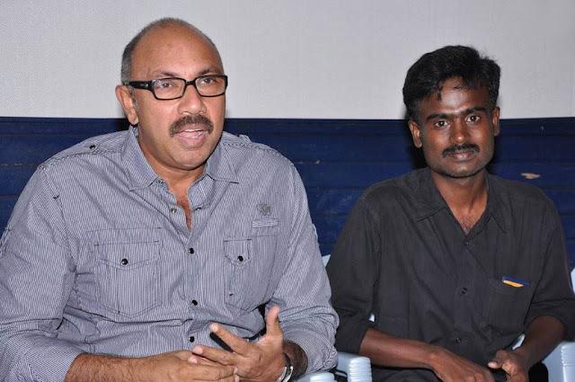 Vengayam Press meet Sathyaraj