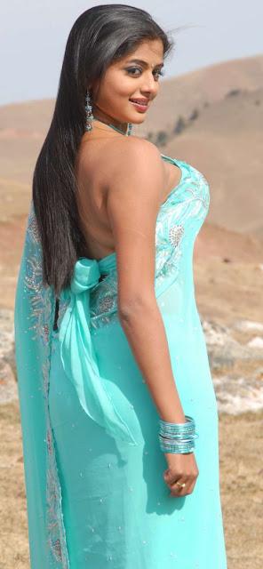 Priya Mani in Blue Saree