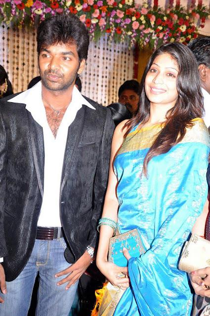 Vasanth Vijay wedding reception stills 3