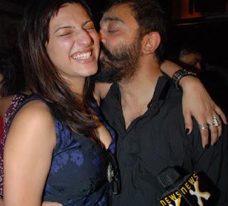 Kamal Haasan and Shruti