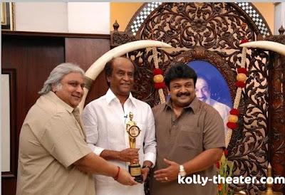 Rajinikanth chevalier sivaji award