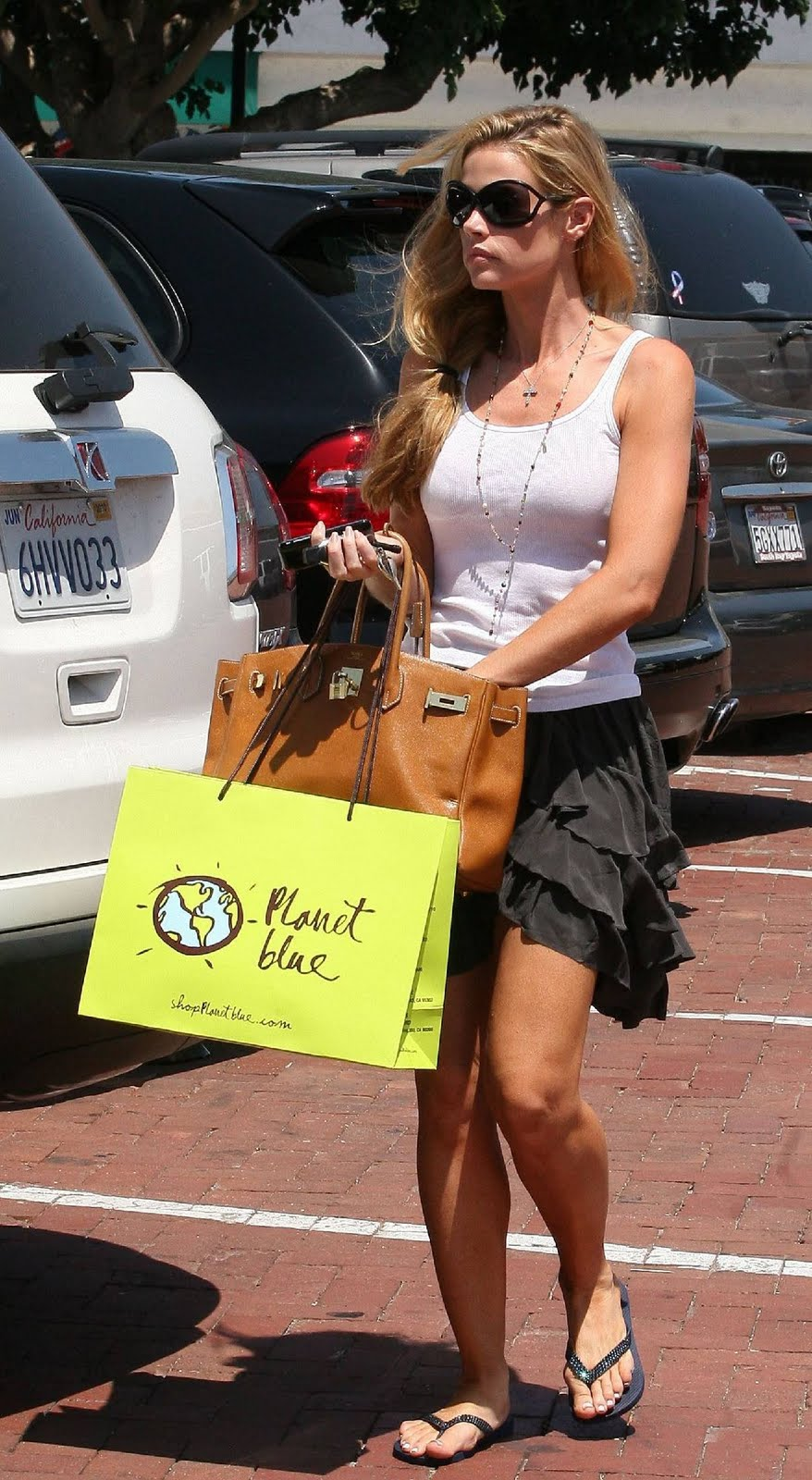 denise richards feet