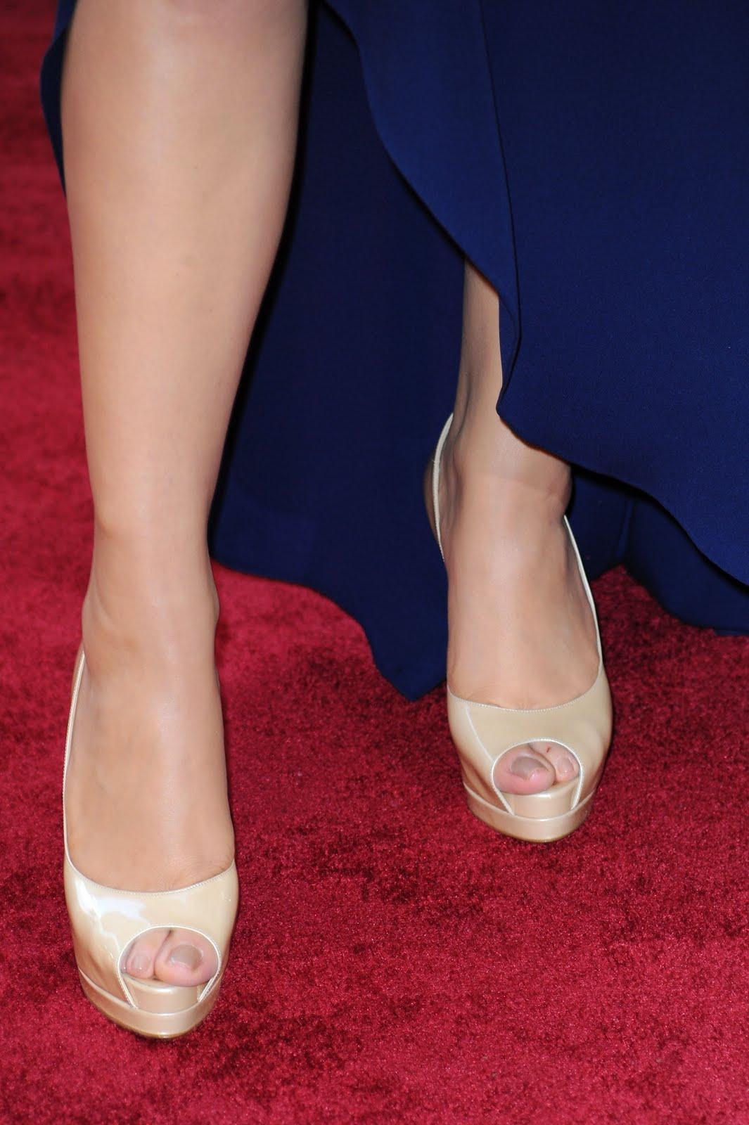 Celebrity fetish foot