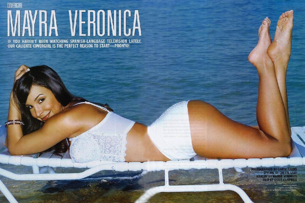 Feet Mayra Veronica