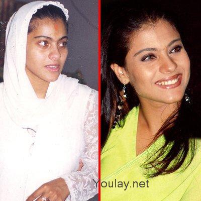 bollywood actress Kajol without makeup