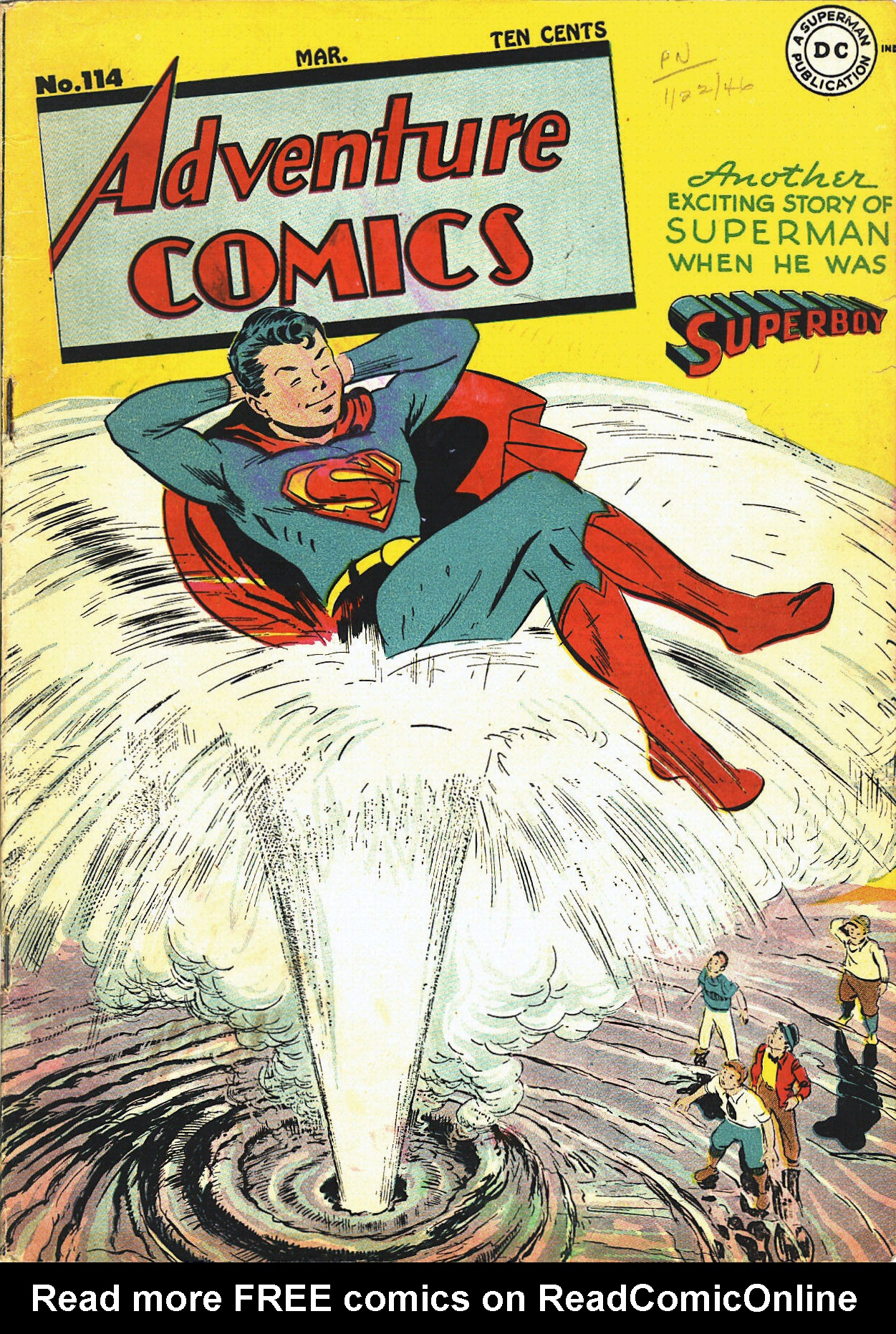 Read online Adventure Comics (1938) comic -  Issue #114 - 2