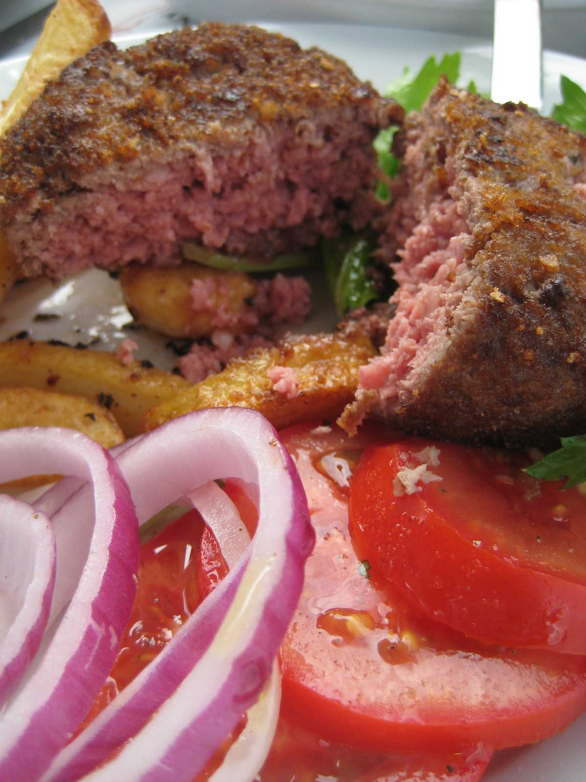butchers burger test
