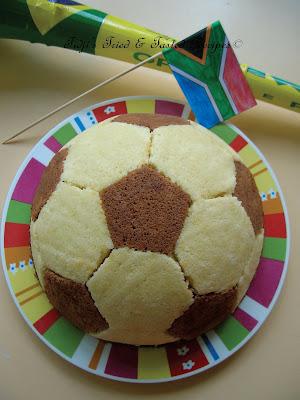 Chocolate Football Cake