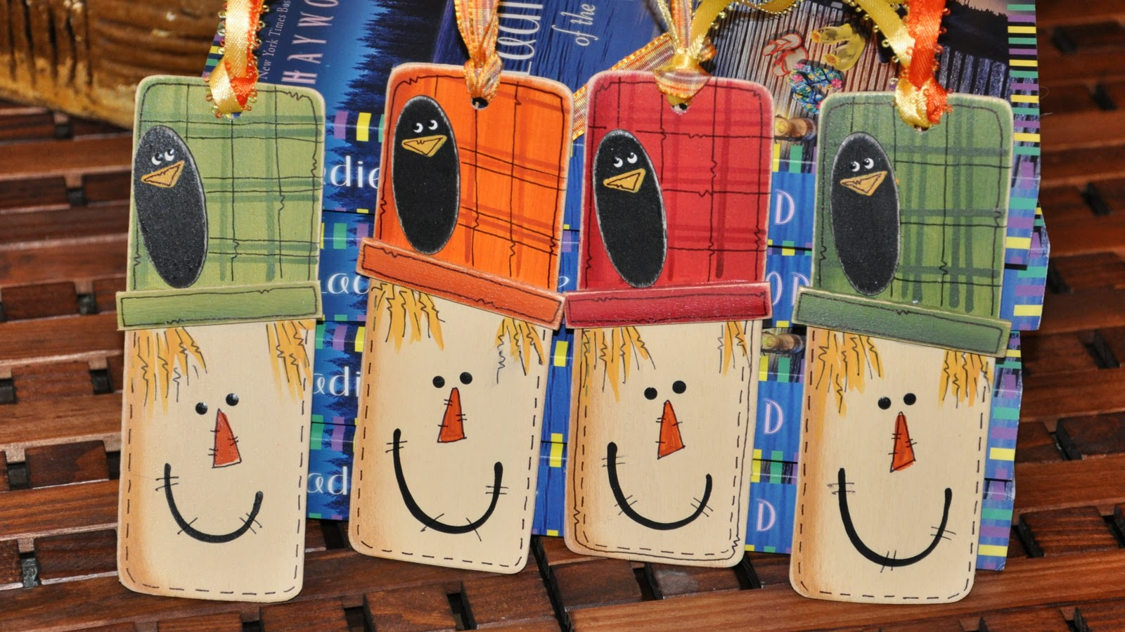 Bookmark Design Ideas 25 Scarecrow Bookmark Ideas Design