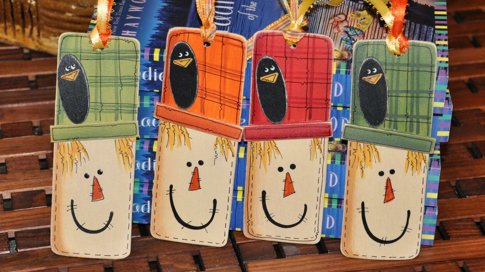 Scarecrow Bookmark