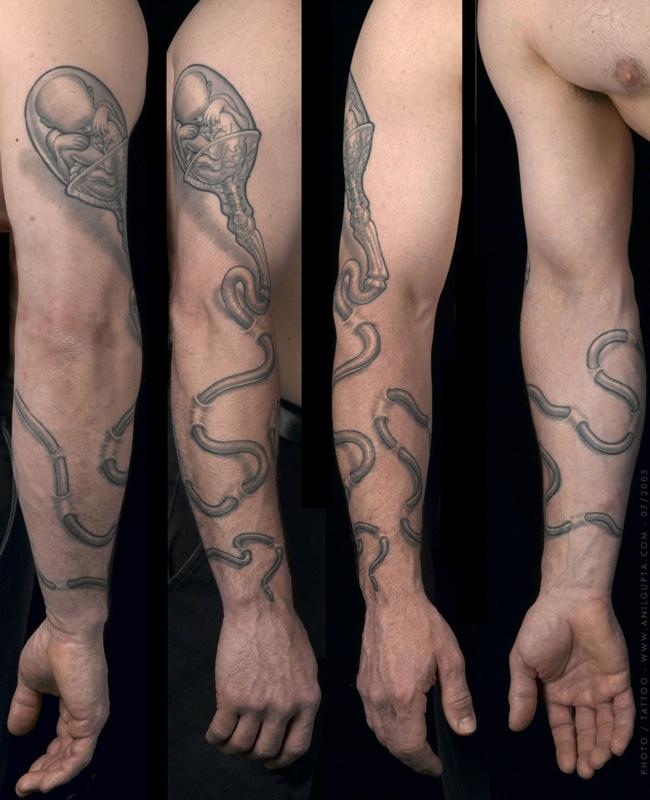 biology tattoos - photo #5