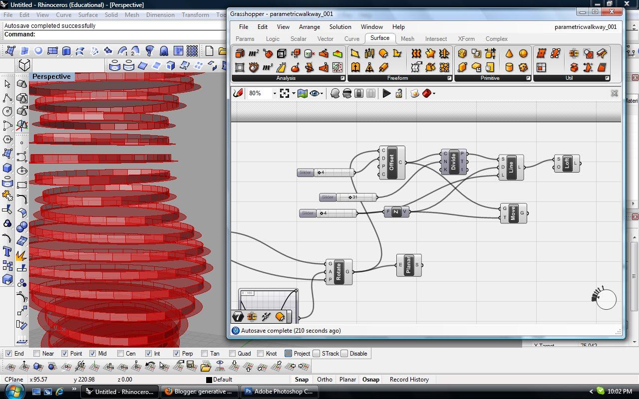 generative design computing: Tower Tutorial Part 02