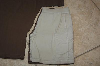 cut out tshirt fabric