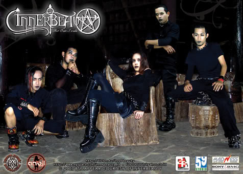 innerbeauty gothic metal band