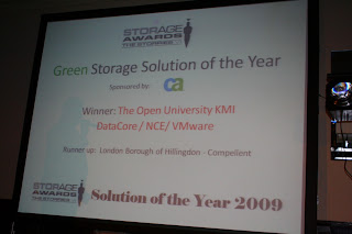 Storage Awards ; DataCore ;s SANmelody wins Green Solution of the Year