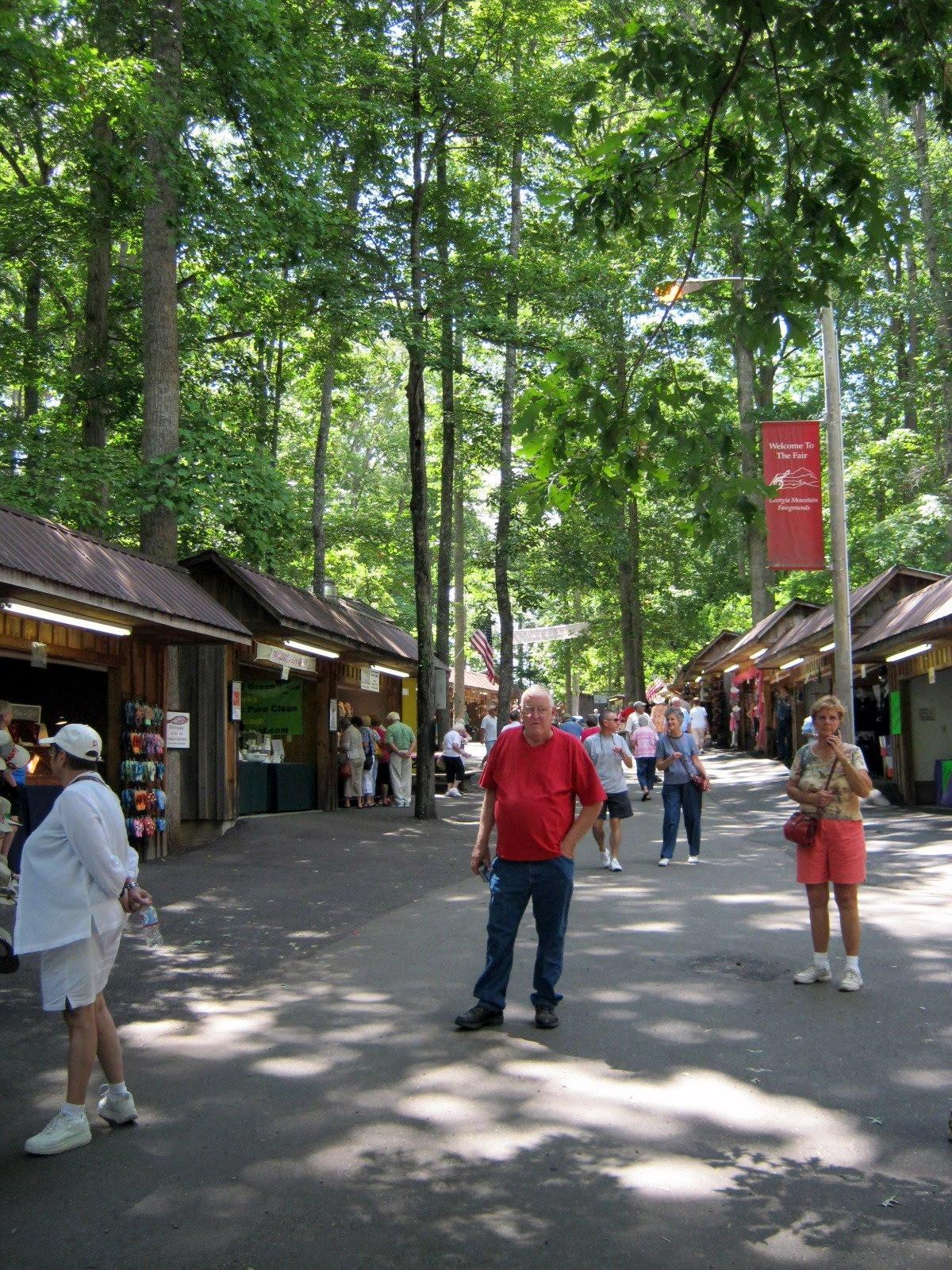 Ramblertrek Georgia Mountain Fair Hiawassee Georgia