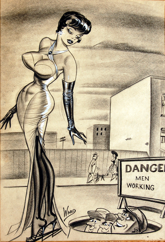 Vintage Retro Nylon The Glamorous Pin-Up Art Of Bill Ward-7820