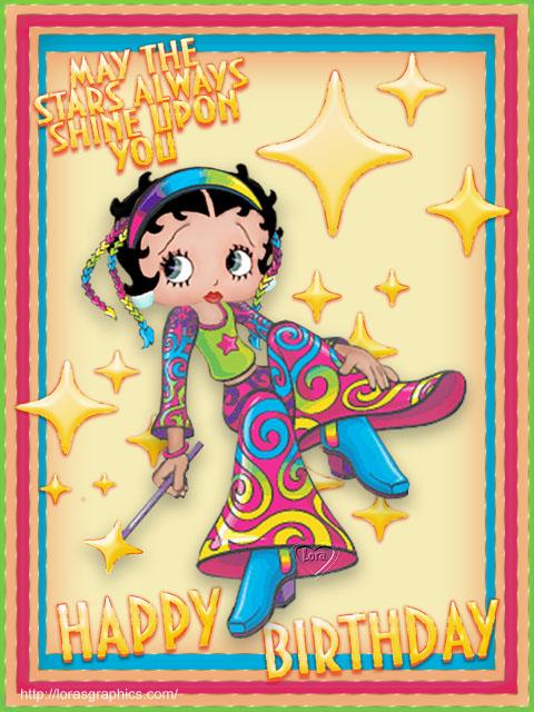 Joyeux Anniversaire Betty Boop