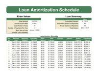 Printables Loan Amortization Worksheet loan information 2012 amortization schedule schedule