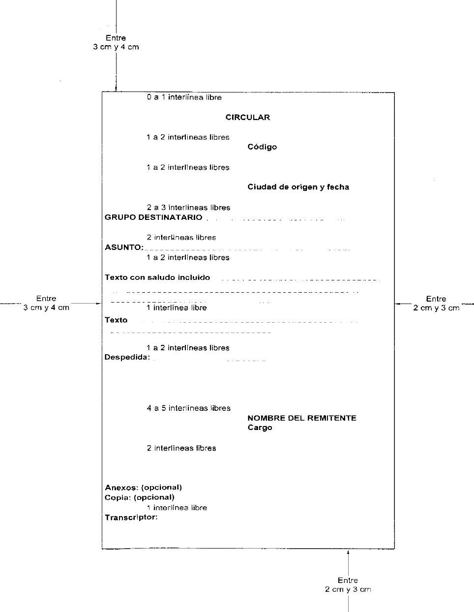 Producir Documentos Como Hacer Una Circular