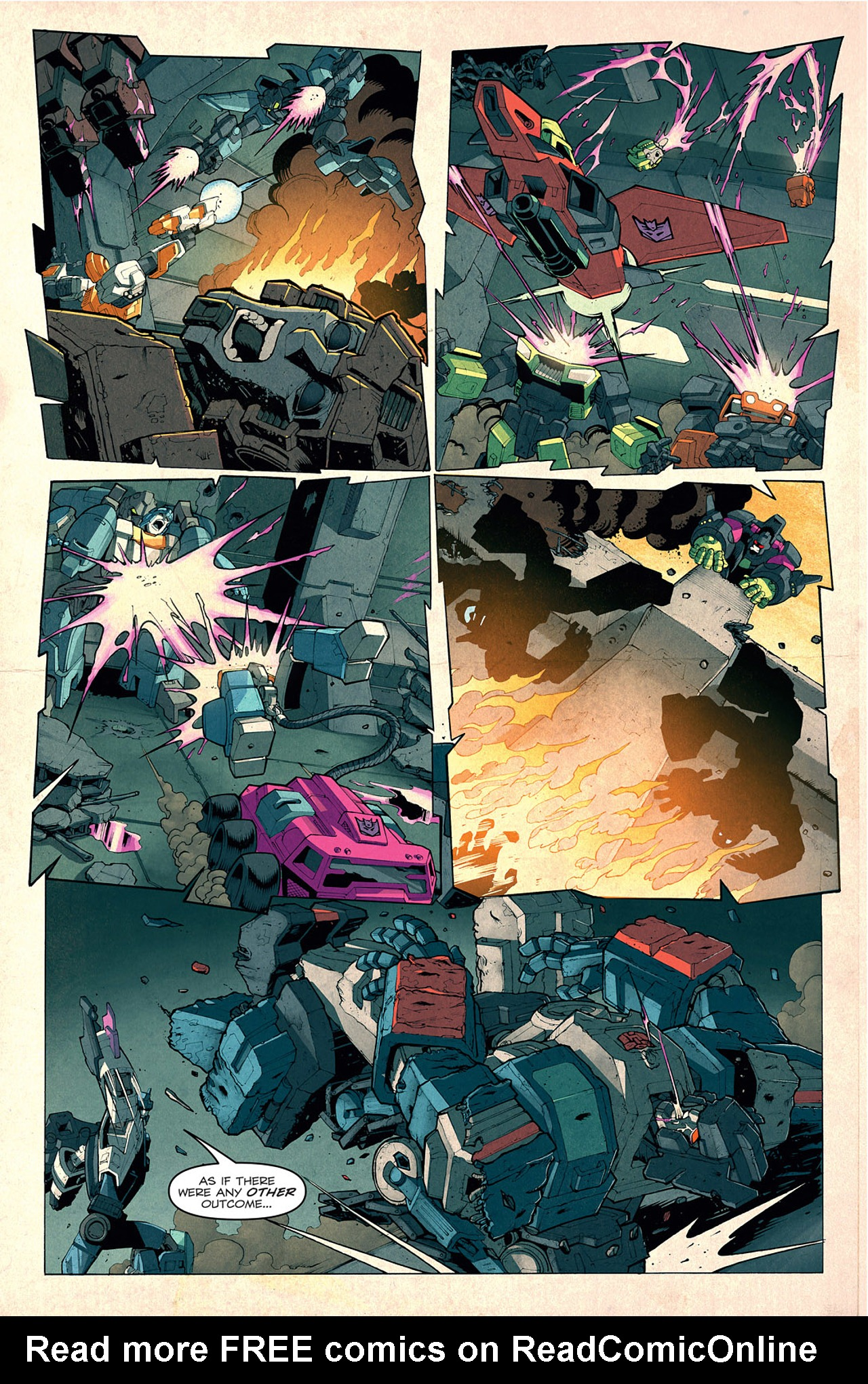 Read online Transformers: Last Stand of The Wreckers comic -  Issue #1 - 9
