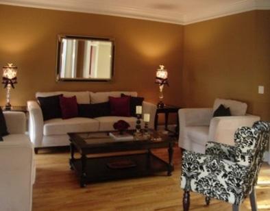 pumpkin spice paint living room