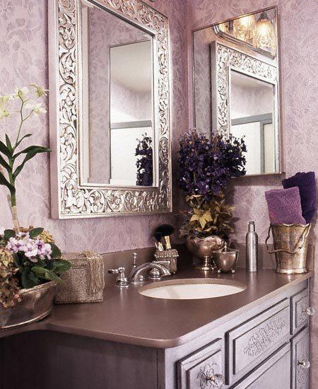 C b i d home decor and design exploring wall color for Mauve bathroom ideas