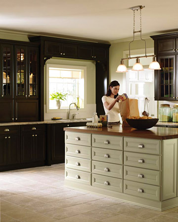 C b i d home decor and design exploring wall color serene green - Martha stewart kitchen design ...
