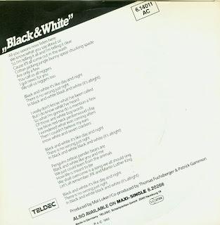 Patto Black And White 107