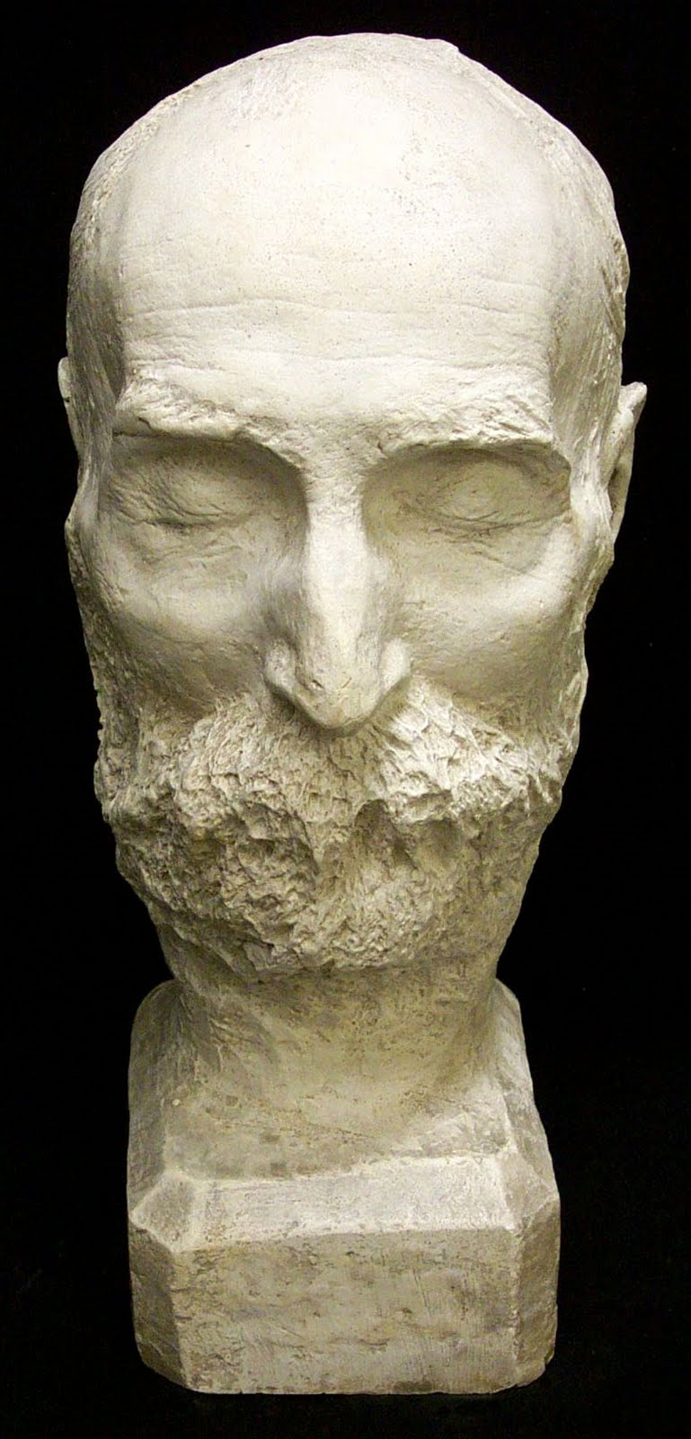 Walt Whitman Death Mask