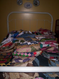 My Huge Pile Of Quilt Tops!