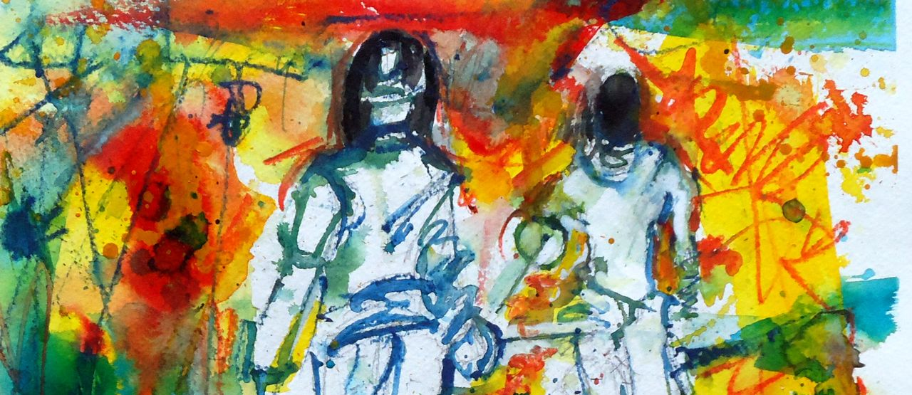 Sport Fencing Paintings New Drawings And Tournament Video