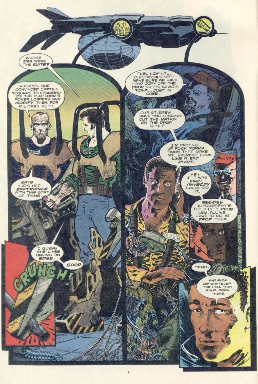 Read online Aliens: Earth War comic -  Issue #3 - 4