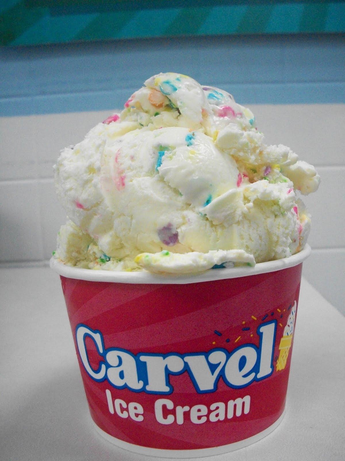 Carvel Ice Cream Birthday Cake