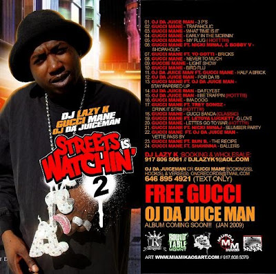 HipHop & RnB & Full Album & Mixtape: DJ Lazy K, Gucci Mane & OJ Da