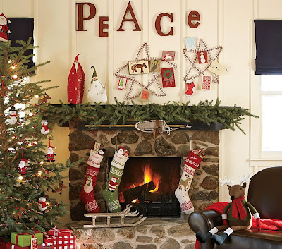 My Christmas Mantel Home Stories A To Z