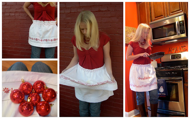 Hostess Aprons From Curtains