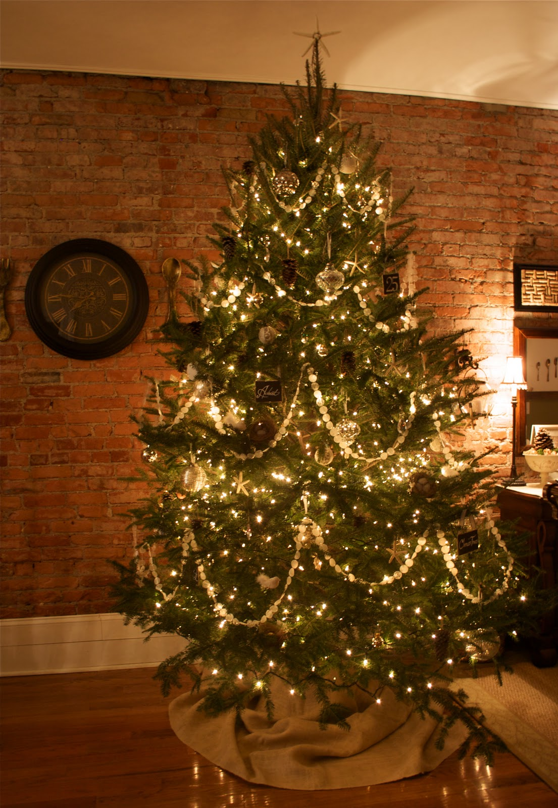 Ballard Designs Inspired Christmas Tree