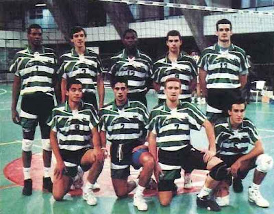 Resultado de imagem para voleibol sporting portugal