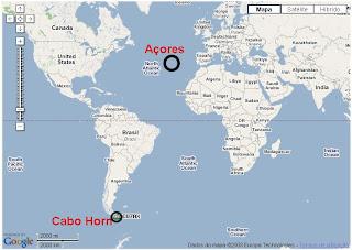 mapa mundo açores um por todos, todos por um: Skipper Genuíno Madruga fustigado por  mapa mundo açores